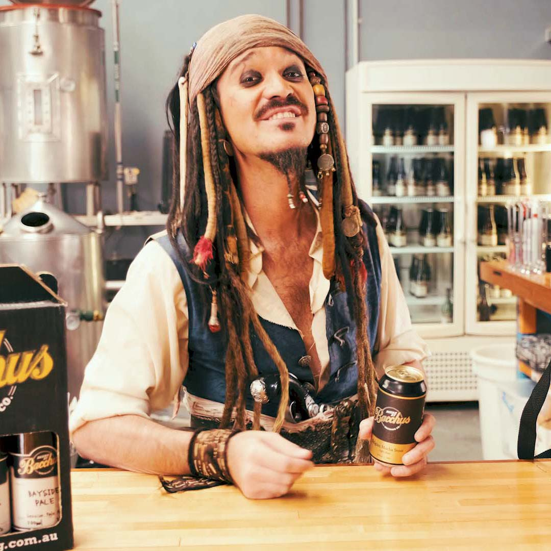 Bacchus Beers and Jack Sparrow Commercial 100 Acts of Kindness Films 3